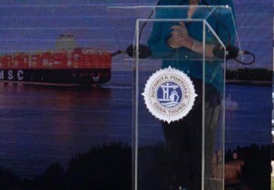 """Msc Sixin, la più grande portacontainers al mondo, approda al porto di Gioia Tauro. Santelli: """"evento importante"""""""