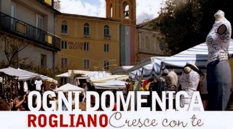 Rogliano, riparte il mercato domenicale all'aperto
